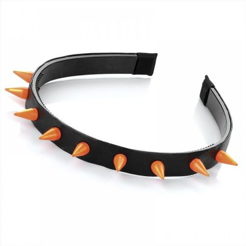 Coloured Plastic Stud Spike PVC Alice Hair Band